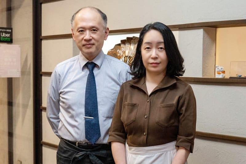 二代目店主(左)佐野達也
